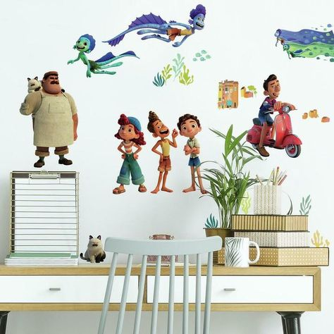 Pixar Luca Peel and Stick Wall Decals