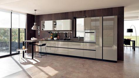 Diseños de cocinas modernas Cocina Pinterest Modern kitchen - stein arbeitsplatte küche