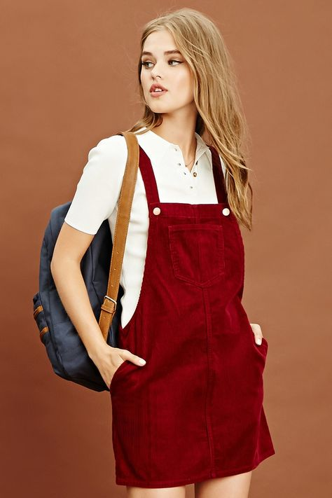 c7217478d6d BDG Gaia Corduroy Skirtall Overall