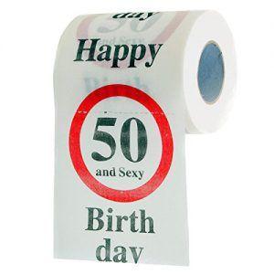 Lustiges Fun Klopapier Zum 50 Geburtstag Toilettenpapier Geschenkartikel Geburtstags Dekoration Toilet Paper Happy 50th 50th Birthday