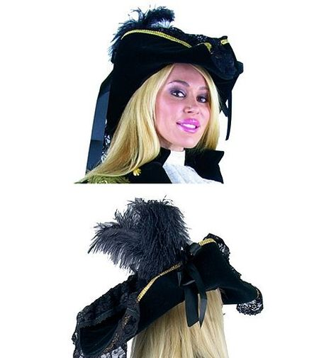 548915cde60 Lacey Pirate Hat