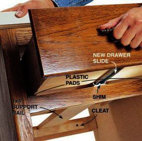 Bush Business Furniture Series A 3 Drawer File The Furniture Blogger Drawer Repair Drawer Slides Furniture Fix