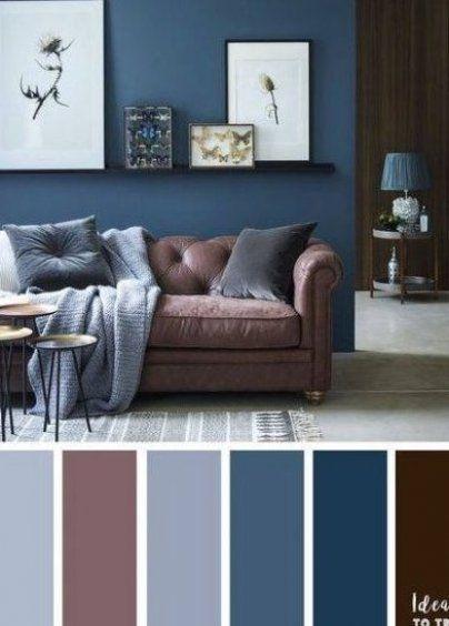 60 Ideas Apartment Living Room Decor Brown Colour Schemes Blue Apartment B In 2020 Living Room Decor Colors Blue Living Room Color Scheme Blue Living Room Color