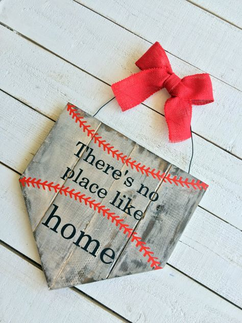 Hey, I found this really awesome Etsy listing at https://www.etsy.com/listing/232128707/baseball-home-plate-sign