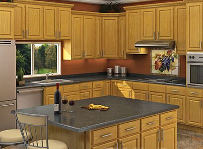Ready To Assemble Cabinets Kitchen Furniture Design Interior Design Kitchen Oak Kitchen Cabinets