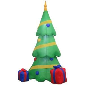 Home Accents Holiday 6 5 Ft Inflatable Airblown Christmas
