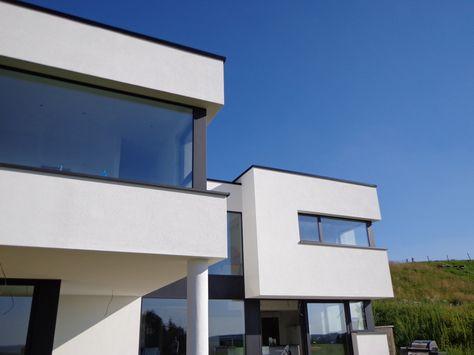 Maison moderne contemporaine basse énergie Luxembourg Art ...
