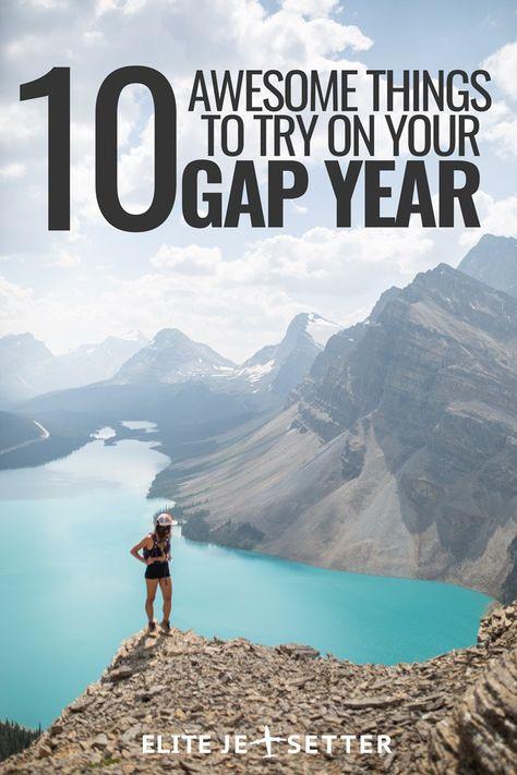 10 Awesome Gap Year Ideas