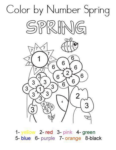 Spring Worksheets Best Coloring Pages For Kids Spring Coloring Pages Preschool Coloring Pages Coloring Pages For Kids