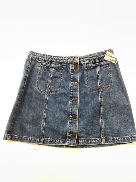Brand: TOP SHOP Style: SKIRT Color: DENIM Size: 12 SKU: 118-118180-19856 I Dress, Size 12, Topshop, Swimsuits, Denim, Skirts, Color, Outfits, Clothes