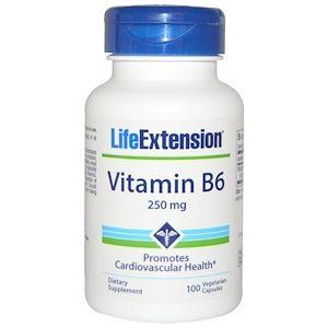 Life Extension فيتامين ب 6 250 مجم 100 كبسولة نباتية Iherb Com Life Extension Vitamins Veggie Caps
