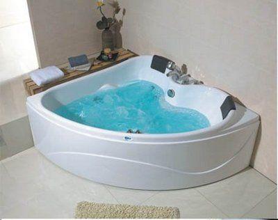 corner jet bath tub. Bathtub with Jets for Two  Person SidebySide Corner Whirlpool by MyBath biz Bathrooms and Bathtubs Pinterest Tubs