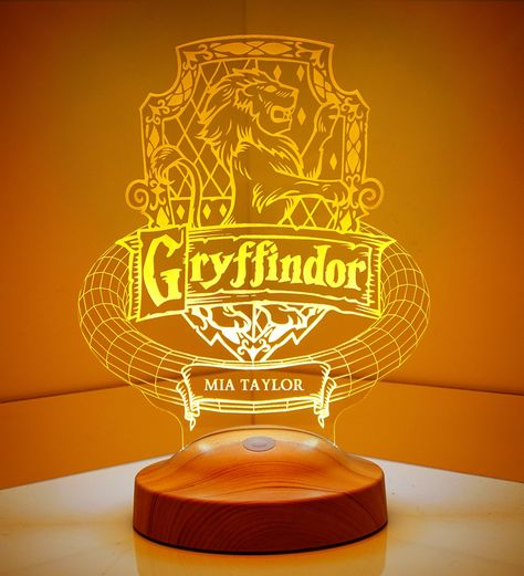 Harry Potter Gryffindor Personalized 3D Lamp