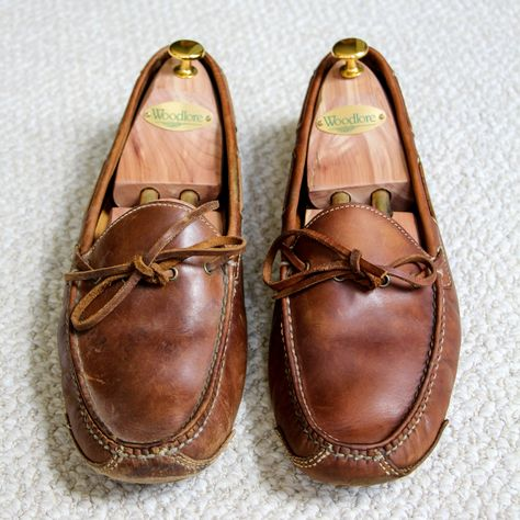 how to clean driving mocs