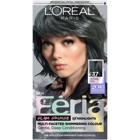 Beauty Feria Hair Color Teal Hair Color Permanent Hair Color