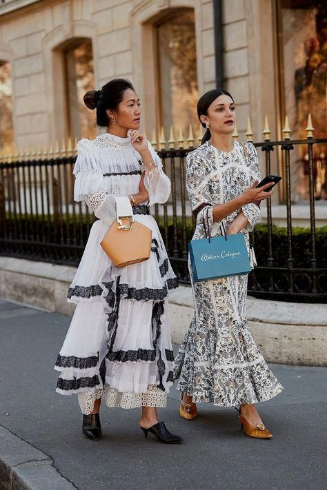 The Latest Street Style From Paris Fashion Week Click through to see the latest street style shots from the spring 2019 shows happening in Paris this week. - The Latest Street Style From Paris Fashion Week