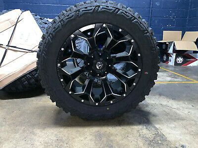 Check Out These 24 Fuel Chevy Silverado Wheels And Tires Fitment