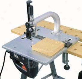 Tools Jigsaw Table With Jig And Fret Saw Blade Guide Jigsaw Table Woodworking Jigsaw Woodworking