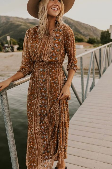 Embroidery Bohemian Style Dress