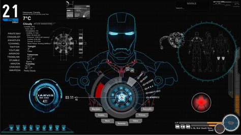 Iron Man Jarvis Live Wallpaper Images Amp Pictures Becuo