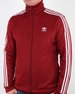 Adidas Originals Beckenbauer Track Top Rust Red | Adidas in 2019