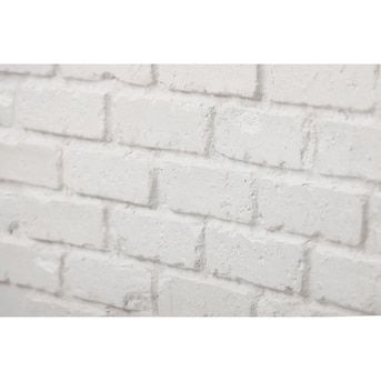 Antico Elements Faux Brick Panels White 47 5 In X 27 25 In Panel Brick Veneer Lowes Com In 2020 Brick Veneer Faux Brick Panels Faux Brick