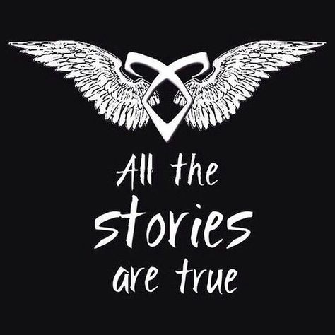 All the stories are true tmi quote