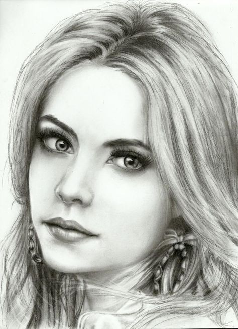 ashley benson - Sketching by Jay Andrew Pestano in Sketching at touchtalent