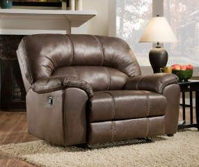 Stratolounger Stallion Brown Snuggle Up Recliner Big Lots Big