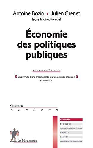 Celebrityebook Markoa Telecharger Economie Des Politiques Publiques