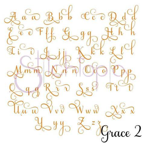 Stitchtopia Grace 2 Monogram Set