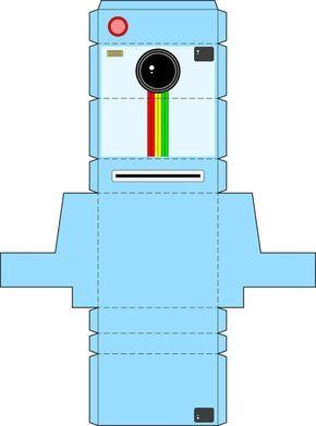 Kinder Kamera Basteln Mit Kostenloser Bastelvorlage 4