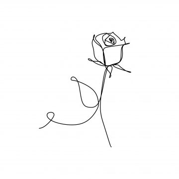 Line Art Drawing One Continuous Lineart Of A Hand Holding Minimalist Style One Lover Valentine Png Transparent Clipart Image And Psd File For Free Download Line Art Drawings Rose Line Art
