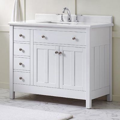 Vanity Cabinets For A Classy Bathroom Home Depot Bathroom Home