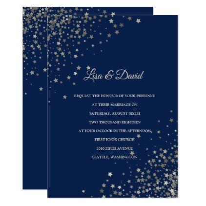 Written In The Stars Wedding Invitation Zazzle Com Stars Wedding Invitations Stylish Wedding Invitation Wedding Invitations