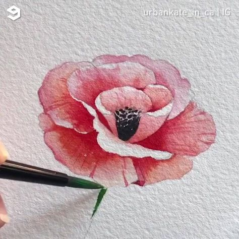 This watercoloring art will soothe your soul By urbankate_in_ca | IG