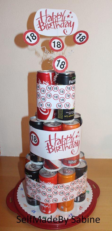 Eine Etwas Andere Geburtstagstorte Torten Basteln Geburtstag