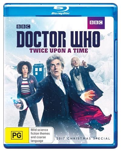 Dcotor Who Christmas Special 2021 Doctor Who Twice Upon A Time Blu Ray In 2021 Doctor Who New Doctor Who Dr Who Christmas Special