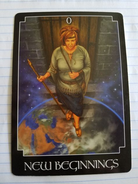 New Beginning Good Morning my friends. The card that came for us today is New Beginnings. This is coming to let us know that it is time to take that we have done some inner work and changes have be…