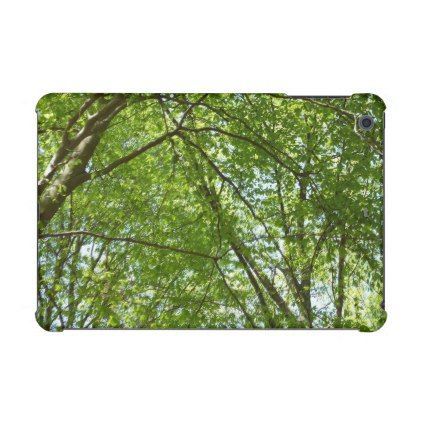 Canopy of Spring Leaves iPad Mini Case - floral style flower flowers stylish diy personalize  sc 1 st  Pinterest & Canopy of Spring Leaves iPad Mini Case - floral style flower ...