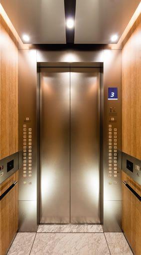エレベーターかご内 エレベーター ダウンライト デザイン