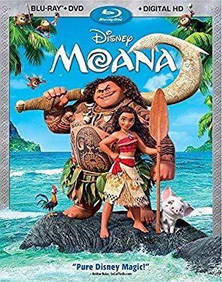 Amazon Com Moana Aka Vaiana Blu Ray Auli I Cravalho Dwayne