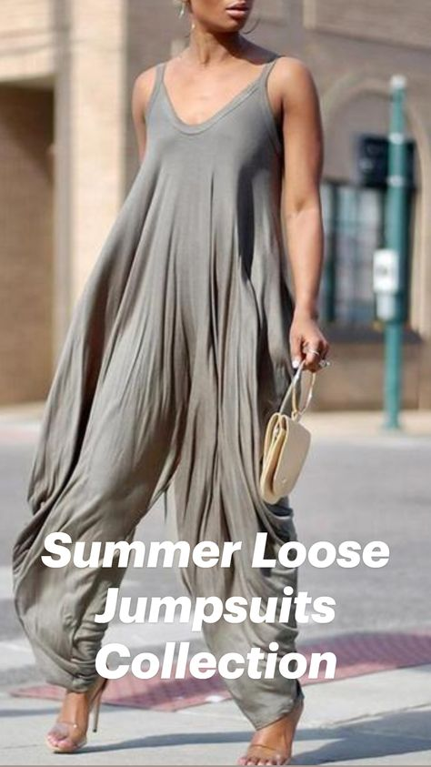 Summer Loose Jumpsuits Collection