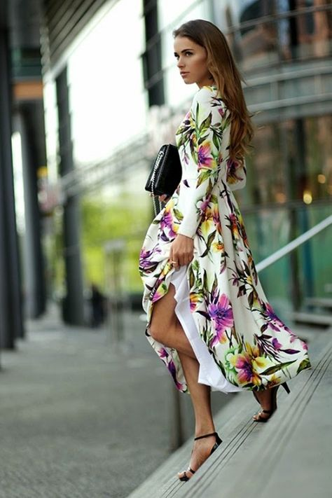 50 Stylish Wedding Guest Dresses That Are Sure To Impress: Flower Power