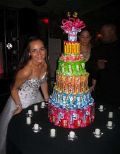 Candy Cake... UMMMM YES PLEASE! I'll take one of these :)