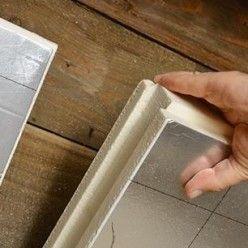 Isoler Une Toiture Par L Interieur Avec Des Panneaux De Polyurethane En 2020 Isolation Combles Amenageables Isolation Toiture Et Isolation Combles