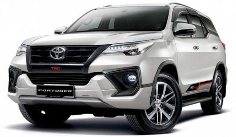 2020 Toyota Fortuner Facelift Trd Sportivo Release Toyota Jaguar Car