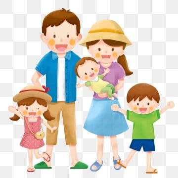 Family Portrait Elderly Elders Parents Children Cartoon Family Clipart Family Portrait Family Png Transparent Clipart Image And Psd File For Free Download Family Cartoon Family Illustration Family Clipart