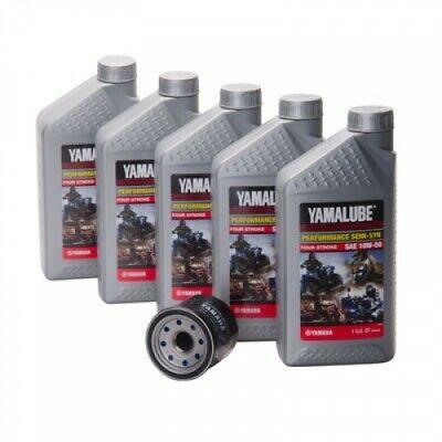 Sponsored Ebay Yamalube Semi Synthetic 10w 50 Oil Change Kit Side X Side Lub Sxscg Kt 10 In 2020