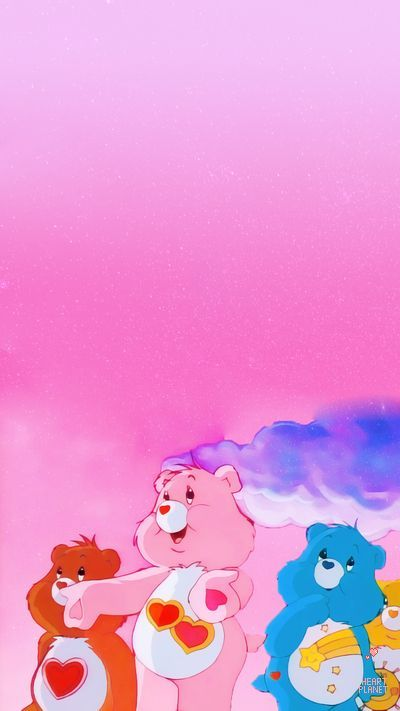 Background Screen Sharing Wallpaper Care Bears Share Cross Cute Care Bear Wallpapers Created Bear Wallpaper Pink Wallpaper Iphone Cartoon Wallpaper Iphone